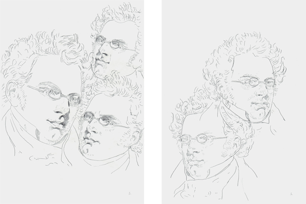 Franz Schubert, by Konstanze Sailer, at akg-images